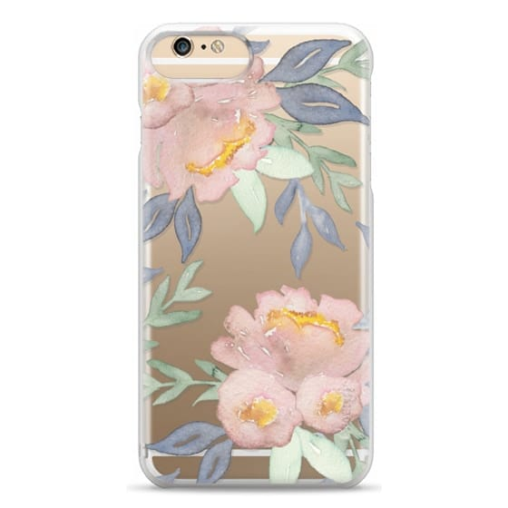 iPhone 6 Plus Cases - Moody Watercolor Florals