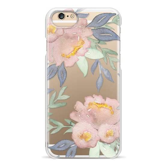 iPhone 6s Cases - Moody Watercolor Florals