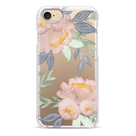 iPhone 7 Cases - Moody Watercolor Florals
