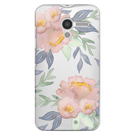 Moto X Cases - Moody Watercolor Florals