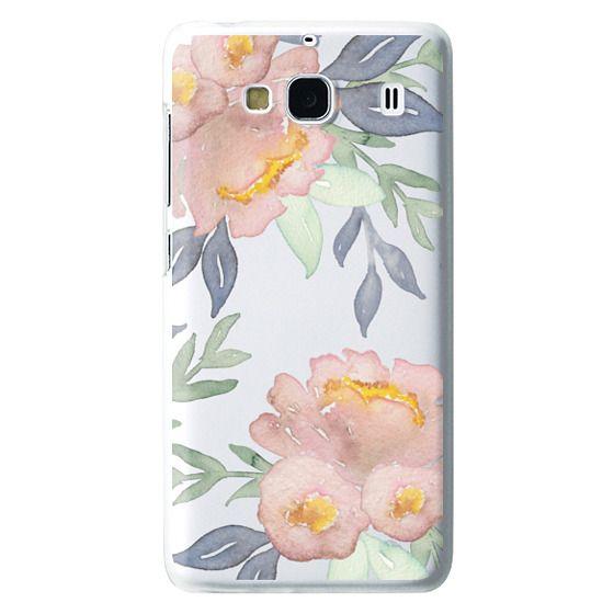 Redmi 2 Cases - Moody Watercolor Florals