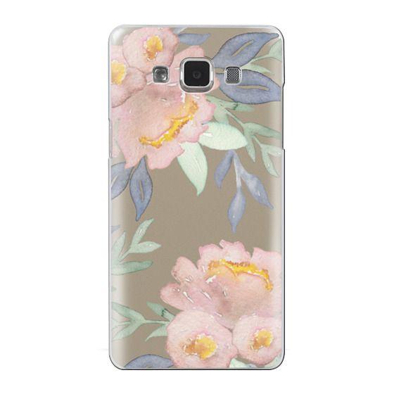 Samsung Galaxy A5 Cases - Moody Watercolor Florals