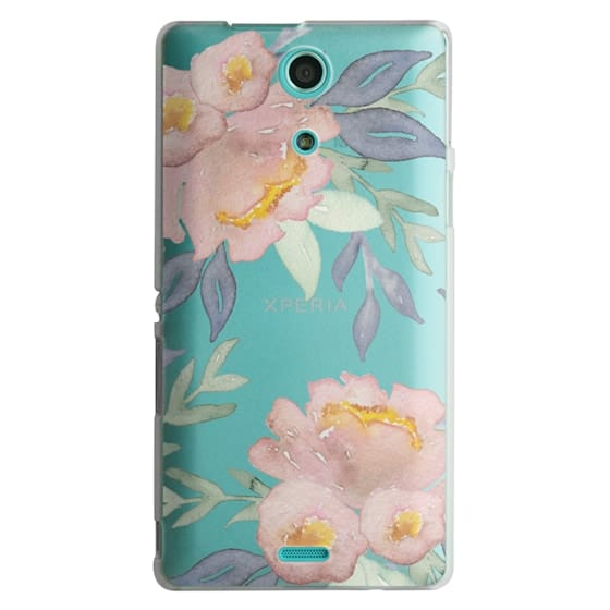 Sony Zr Cases - Moody Watercolor Florals