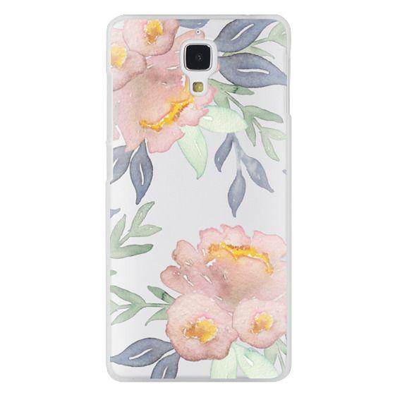 Xiaomi 4 Cases - Moody Watercolor Florals