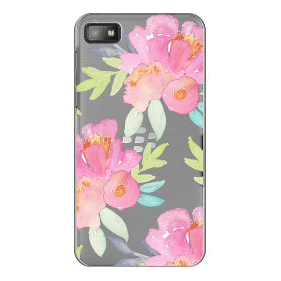 Blackberry Z10 Cases - Summer Watercolor Florals
