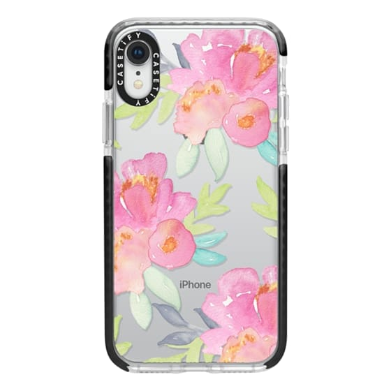 iPhone XR Cases - Summer Watercolor Florals