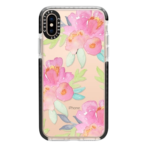 iPhone XS Cases - Summer Watercolor Florals