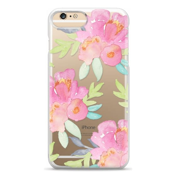 iPhone 6 Plus Cases - Summer Watercolor Florals