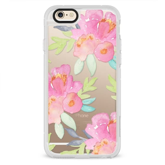 iPhone 4 Cases - Summer Watercolor Florals