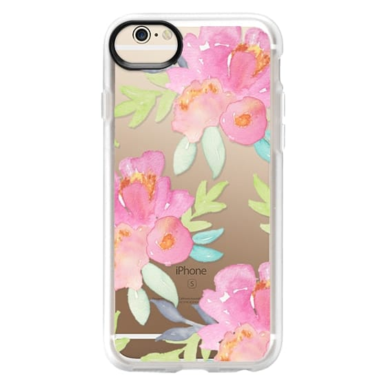 iPhone 6 Cases - Summer Watercolor Florals