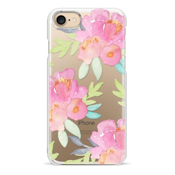 iPhone 7 Cases - Summer Watercolor Florals