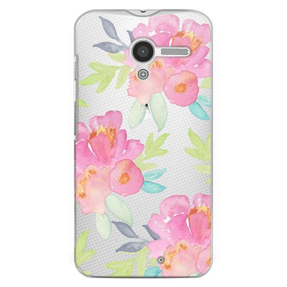 Moto X Cases - Summer Watercolor Florals