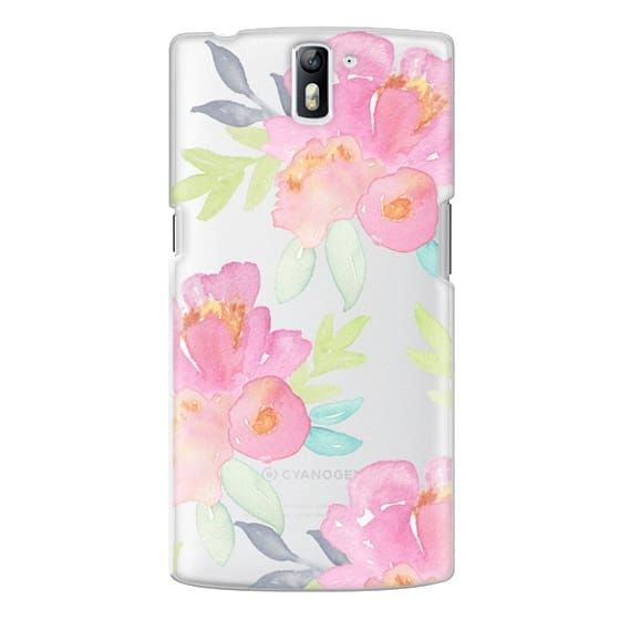 One Plus One Cases - Summer Watercolor Florals