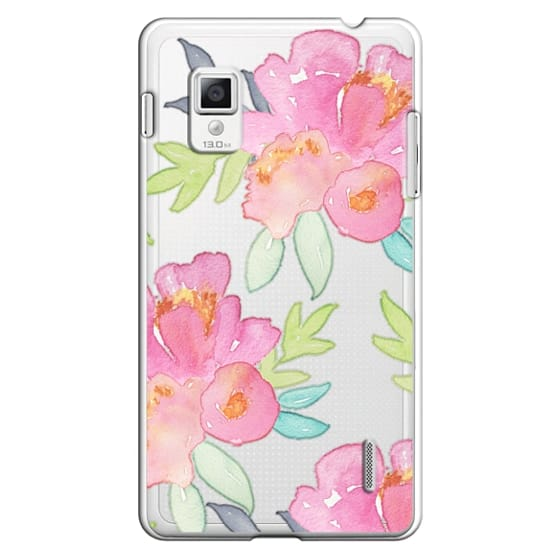 Optimus G Cases - Summer Watercolor Florals
