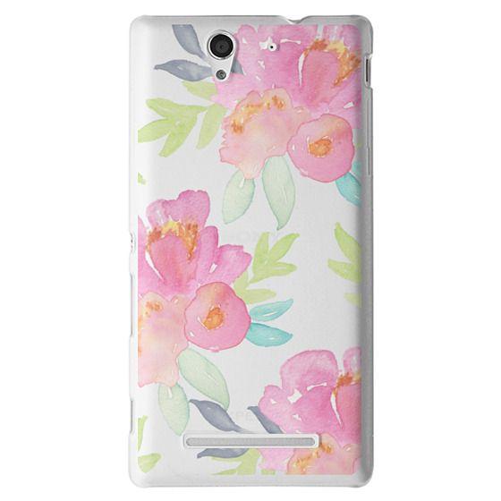 Sony C3 Cases - Summer Watercolor Florals