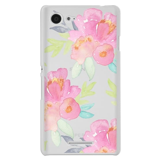 Sony E3 Cases - Summer Watercolor Florals