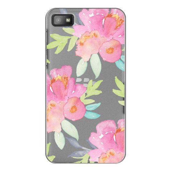 Blackberry Z10 Cases - Summer Watercolor Florals