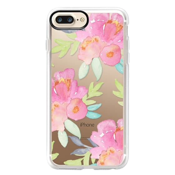 iPhone 7 Plus Cases - Summer Watercolor Florals