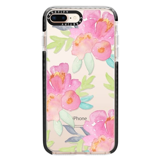 iPhone 8 Plus Cases - Summer Watercolor Florals