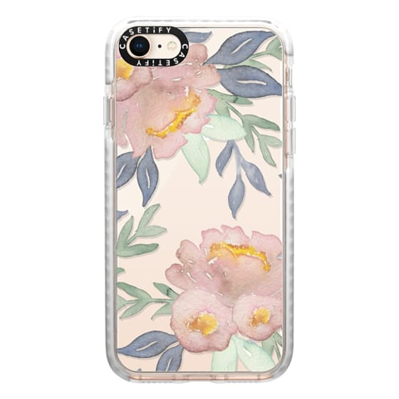iPhone 8 Cases - Moody Watercolor Florals