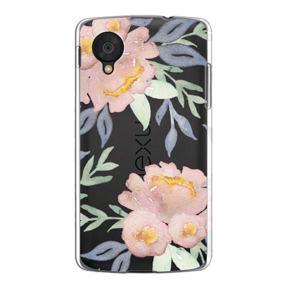 Nexus 5 Cases - Moody Watercolor Florals