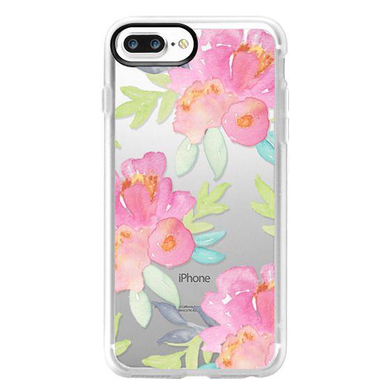 iPhone 7 Plus Cases - Summer Watercolor Florals