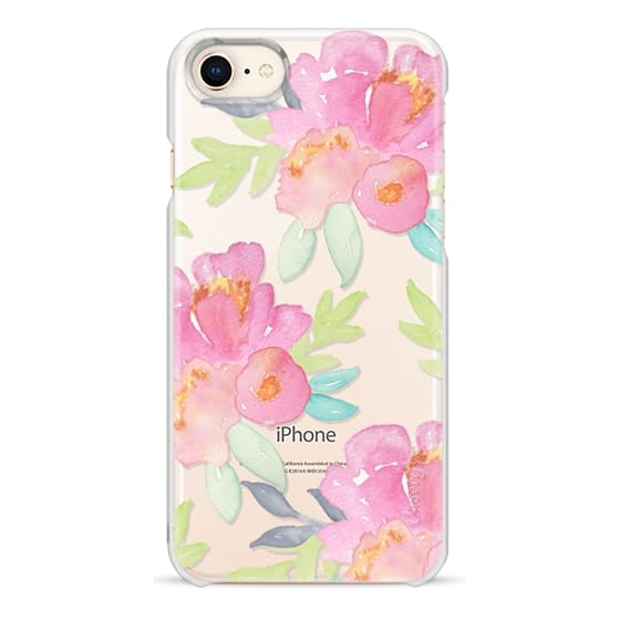 iPhone 8 Cases - Summer Watercolor Florals