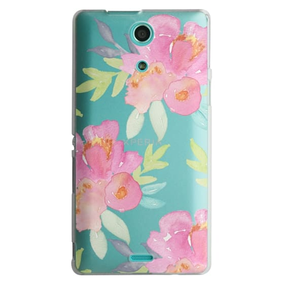 Sony Zr Cases - Summer Watercolor Florals