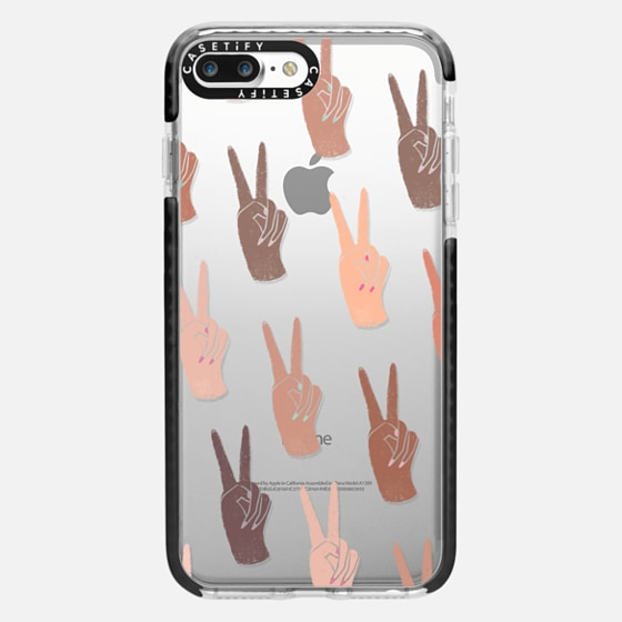 iPhone 7 Plus/7/6 Plus/6/5/5s/5c Case - Peace