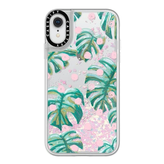 iPhone XR Cases - Pure Oasis in Polka by Dash and Ash