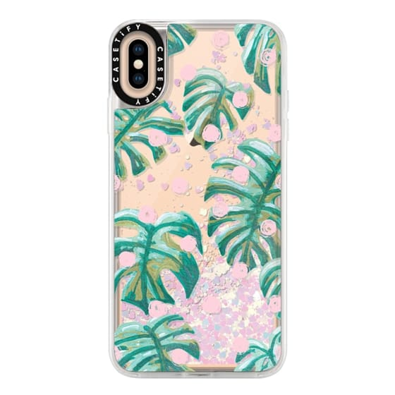 iPhone XS Max Cases - Pure Oasis in Polka by Dash and Ash