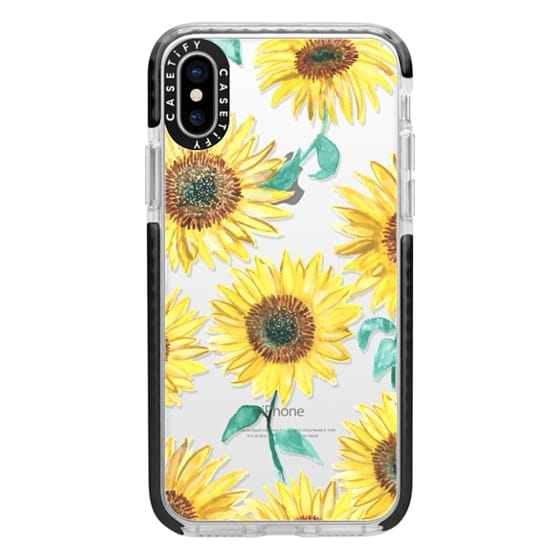 iPhone X Cases - Sunflowers