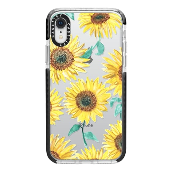 iPhone XR Cases - Sunflowers