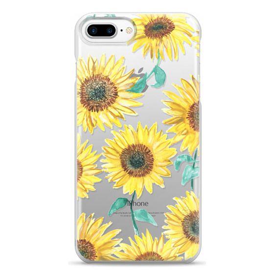 iPhone 7 Plus Cases - Sunflowers