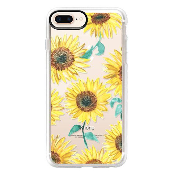 iPhone 8 Plus Cases - Sunflowers