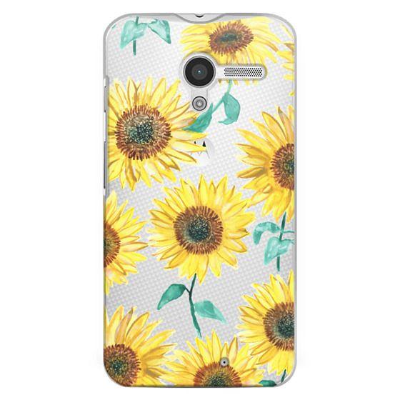 Moto X Cases - Sunflowers