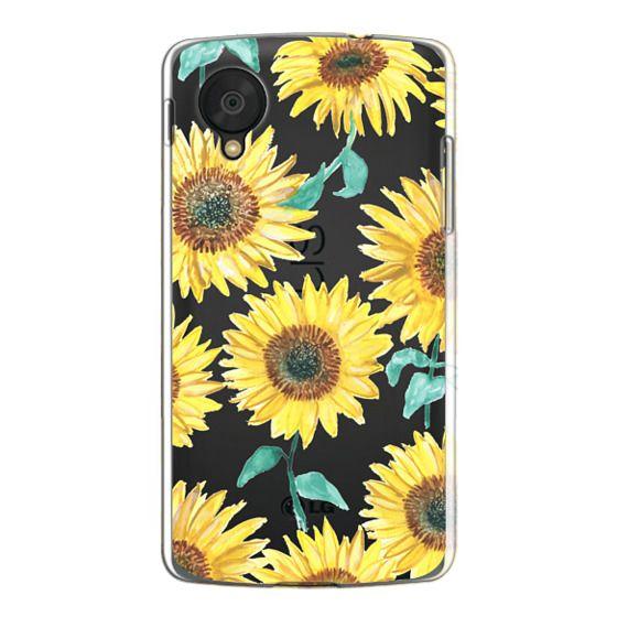 Nexus 5 Cases - Sunflowers