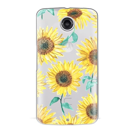 Nexus 6 Cases - Sunflowers
