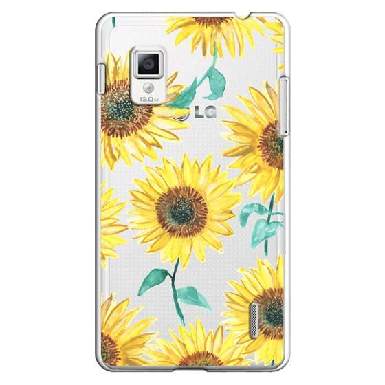 Optimus G Cases - Sunflowers