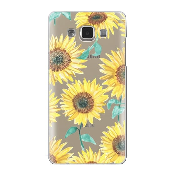 Samsung Galaxy A5 Cases - Sunflowers