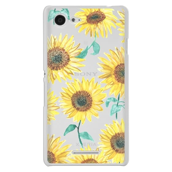 Sony E3 Cases - Sunflowers