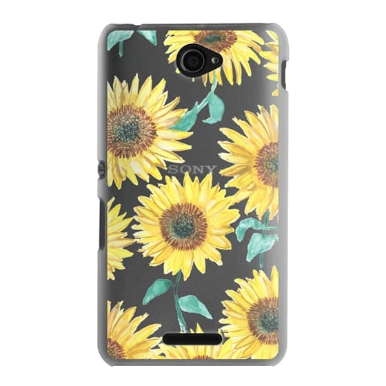 Sony E4 Cases - Sunflowers
