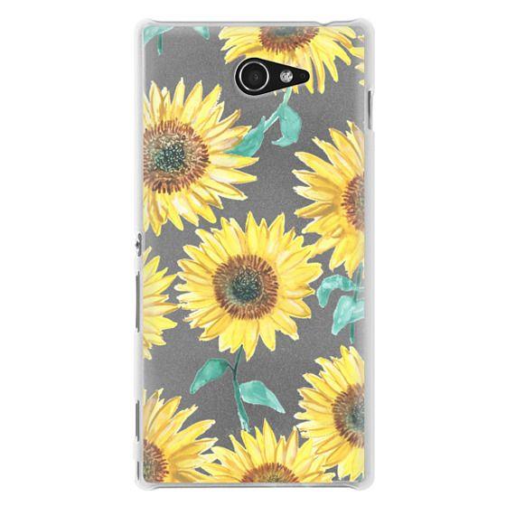 Sony M2 Cases - Sunflowers