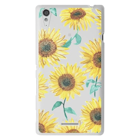 Sony T3 Cases - Sunflowers