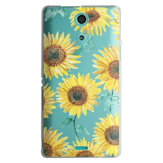 Sony Zr Cases - Sunflowers