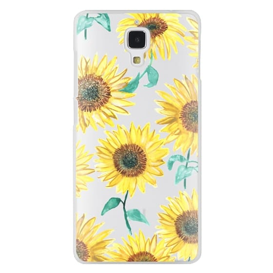 Xiaomi 4 Cases - Sunflowers