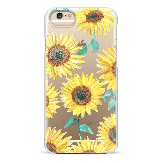 iPhone 6 Cases - Sunflowers