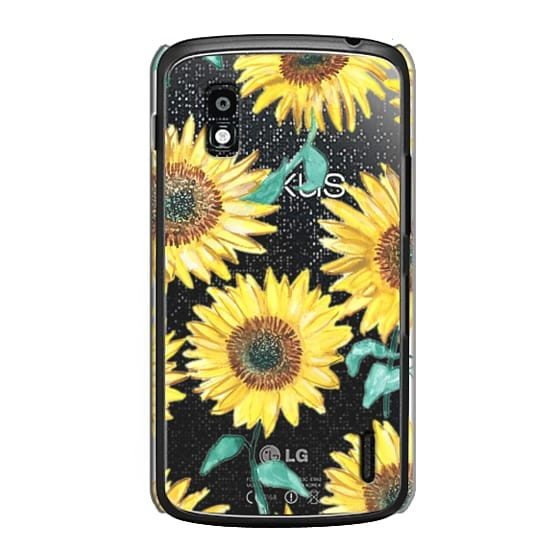 Nexus 4 Cases - Sunflowers