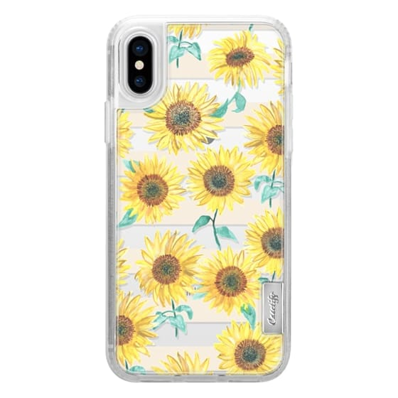 iPhone X Cases - Sunny Sunflower