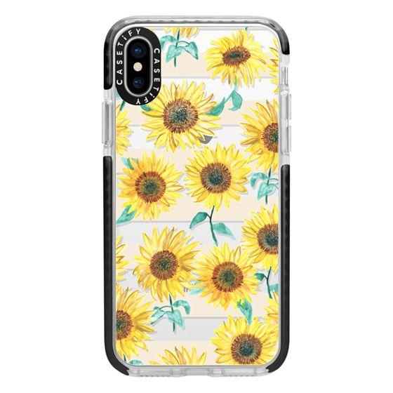 iPhone X Cases - Sunny Sunflower